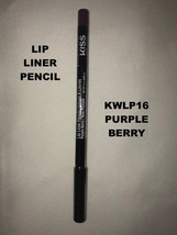 KISS NEW YORK PROFESSIONAL LIP LINER PENCIL # KWEP16 PURPLE BERRY - $2.96