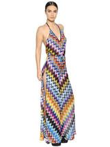 Missoni Women's Wide Leg Multi-color Zigzag Che... - $692.99