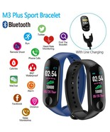 2019 Boobadabuh M3 plus Smart Bracelet Fitness Pedometer Watch - $19.99