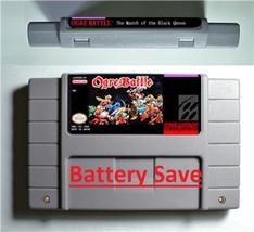 Ogre Battle SNES 1993 Super Nintendo RPG Game Cartridge Battery Save US ... - $24.00