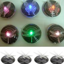 4 PCS Solar Power LED RGB Color Changing Floating Light Lamp Pond Pool B... - $17.65
