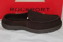 Rockport Men's Suede INDOOR/OUTDOOR CLOG/SLIPPER, Brown 71RQ670026 - $49.20