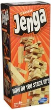 Jenga Classic Game, Simple Solid & Timeless, Skill Strategy & Luck, Chal... - $22.46