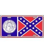 Georgia State Flag License Plate - $9.89