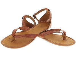 Womens Ankle Gladiator Style Genuine Leather Brown Huarache Sandal Buckle - €32,40 EUR