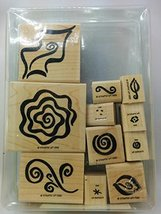 Stampin' Up! Fabulous Flourishes - Two-step Stampin' - Retired 1996 - $35.95