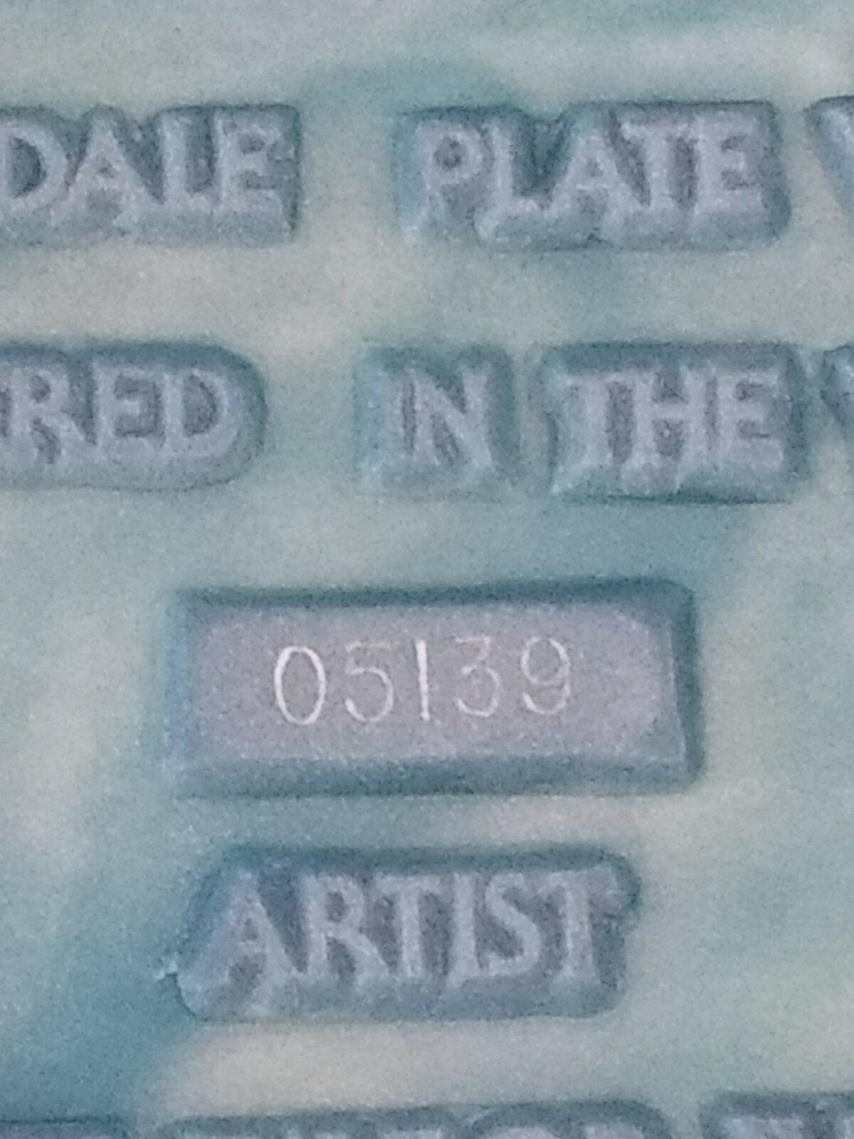 "VINTAGE ARTIST SIGNED ""Melissa"" AVONDALE PLATE #05139 FRANCES TAYLOR WILLIAMS"