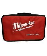 "Milwaukee M12 Fuel Logo 14"" Contractor Soft Case Bag Tool Bag Stubby 3/8... - $19.80"