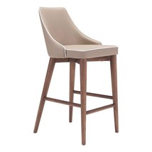 counter height chairs, Moor Elegant Dining counter high chairs, Beige - $34.99