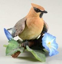 The Lenox Garten Vogel Sammlung Cedar Seidenschwanz (Feines Porzellan 1991) - $69.06