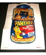 """2012 Wacky Packages Series 1 """"PANTHERS PEANUTS"""" #13 Poster - $2.49"""