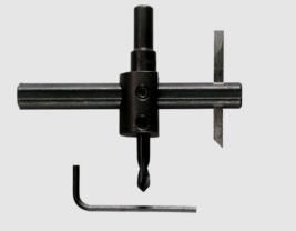 """General Tools 5B Bi-Metal CIRCLE CUTTER 3/8"""" Shank Dia. Cut Precise Meta... - $18.89"""