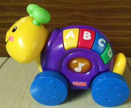 Fisher Price Musical Talking Alphabet ABC Caterpillar Learning Toy on Wh... - $3.95
