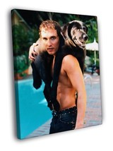 Matthew McConaughey Shirtless Hot Young Rare Decor Framed Canvas Print - $19.95