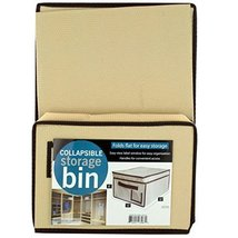 Kole Imports OS310 OS310 Collapsible Storage Bin with Lid - $68.55
