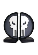 Marvel The Punisher Logo Bookends Gentle Giant Statue New In Box - $29.69