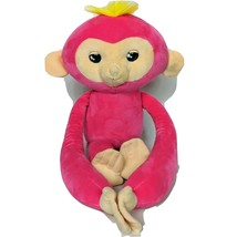 "Fingerlings Talking Moving Eyes Bella Pink Monkey Plush WowWee 2018 19"" - $26.42"