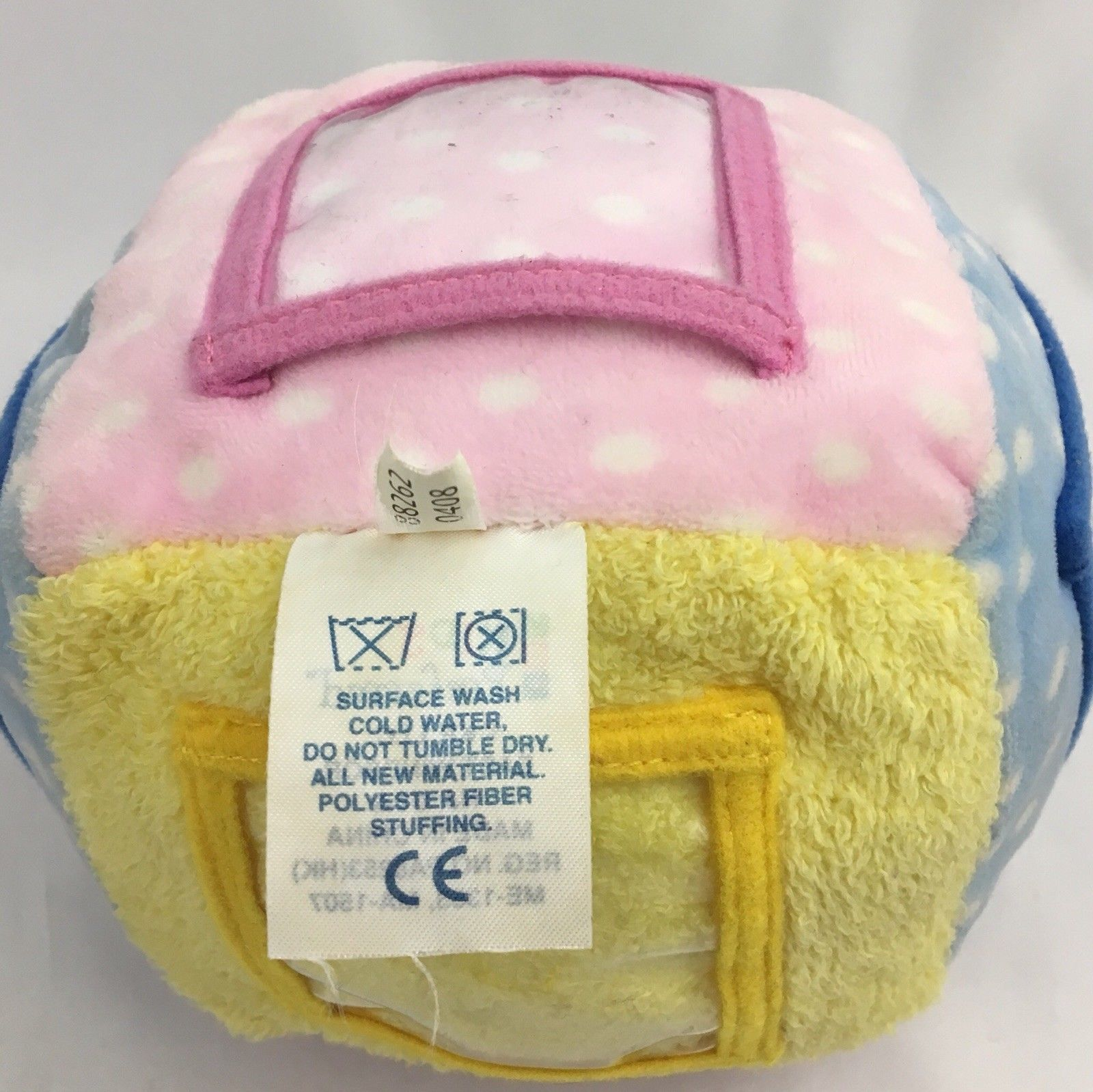 Kids Preferred Photo Picture Cube Rattle Plush Baby Toy image 4