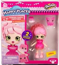Shopkins Happy Places Jellica & 2 exclusive Petkins Lil' Shoppie Pack S3 - $9.95