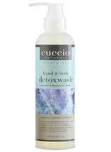 Cuccio Naturale Hand & Body Detox Wash, 8 oz