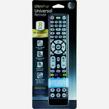 Ge 37123 Ultra Pro Universal Remote Control Up To 8 Devices Tv Dvr Apps Functions - $22.79