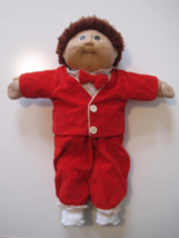 CABBAGE PATCH Kids Doll Boy 1982 Head Mold #2 Coleco OK Brown Eyes Brown... - $20.30