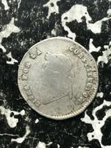 1854- PTS MJ Bolivia 1/2 Sol Lot#L524 Silver!  - $14.03