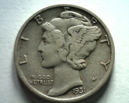 1931-S MERCURY DIME EXTRA FINE XF EXTREMELY FINE EF NICE ORIGINAL COIN B... - $28.00