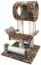 Cat Tree Condo Scratcher House Playroom Furniture Tower Kitten House Ham... - $49.15