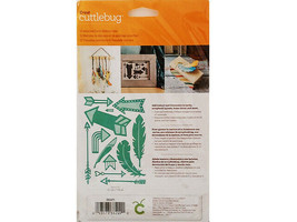 Cricut Cuttlebug Feathers and Arrows Die Set #2003470 image 2
