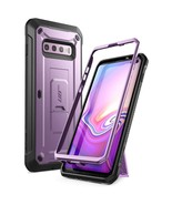 Galaxy S10 Plus Unicorn Beetle Pro Full Body Rugged Holster Case (Purple) - $13.99