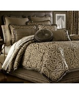 New J. Queen New York Luxembourg 4 Piece Queen Comforter Set Mink - $284.22