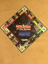 Star Wars Monopoly Board Game Part!!! Game Boardl!!! - $10.00