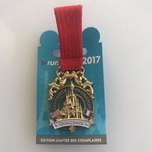 Disneyland Paris runDisney 2017 Castle to Chateau Medal Pin - $44.00