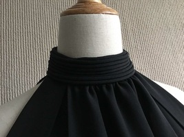 100% AUTHENTIC LOEWE LONG BLACK SLEEVELESS EVENING DRESS  image 7