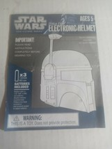 Boba Fett Electronic Helmet Instructions Manuel Catalog 2009 2010 Hasbro - $19.79