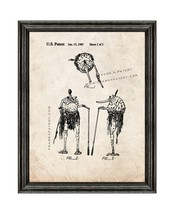 Star Wars Sy Snootles Patent Print Old Look with Black Wood Frame - $24.95+