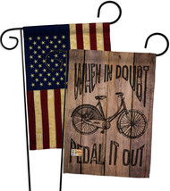 When in Doubt, Pedal it Out - Impressions Decorative USA Vintage - Appli... - $30.97