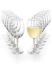 Martha Stewart Essentials Glassware  12 - Piece White Wine Glasses Set NEW - $37.99