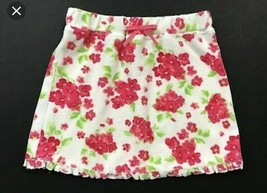 JANIE AND JACK Seaside Cottage Floral Toweling Terry Swim Cover Skirt Si... - $14.85