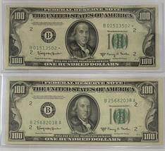 1950 E $100 Star FR Note & 1950 E One Hundred Dollar Note SCARCE 2 Note ... - $975.00