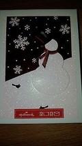 HALLMARK SNOWMAN CHRISTMAS CARDS HOLIDAY CARDS GREETINGS NIB 12 CARDS - $23.18