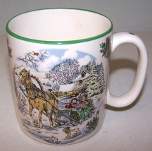 SPODE 2006 World of Christmas Coffee Mug White Ceramic 2nd in Series JIN... - $9.99