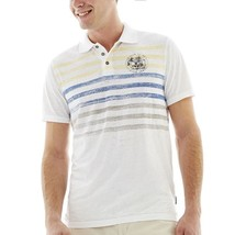 i jeans by Buffalo Cyril Printed Polo Size L New Msrp $36.00 - $12.99