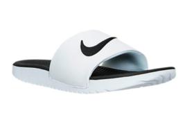 819352-100 Kids youth Nike Kawa Slide Sandals (GS/PS) White/Black  - $24.99