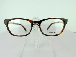 Nine West NW 5141 (240) Soft Tortoise  52 x 17 135 mm  Eyeglass Frames - $51.96