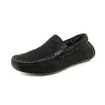 Alfani Polar Mens Black Moc Suede Slipper Shoes Size 8.5 - $37.61