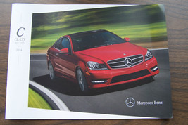2014 mercedes c 63 amg c 350 c250 c300 owners sales brochure w204 c class - $10.99
