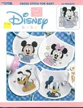 Leisure Arts Disney Baby Cross Stitch Design Book - $9.00