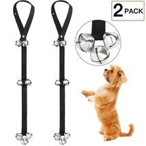Set of 2 Pack Dog Doorbells Potty Training Adjustable Super 7 Extra Loud... - $18.04 CAD